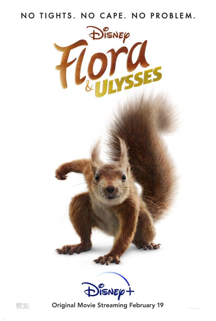 Flora en de Fantastische Eekhoorn
