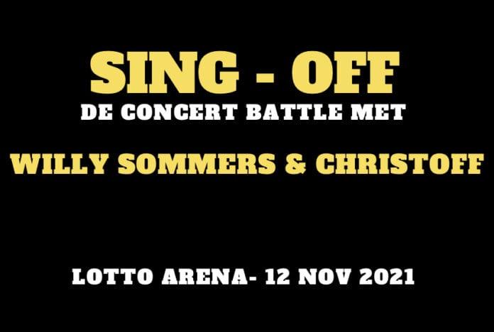 SING OFF de concert battle